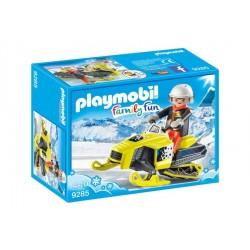 PLAYMOBIL 9285 - MOTOSLITTA