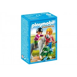 PLAYMOBIL 6950 - PONY CON...