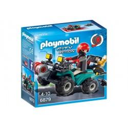 PLAYMOBIL 6879 - QUAD DEL...